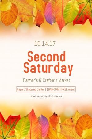 Second Saturday Flyer October 2017